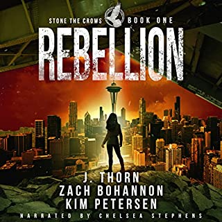 Rebellion: A Dystopian Thriller in a Post-Apocalyptic World cover art
