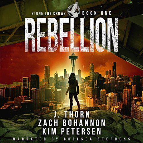 Rebellion: A Dystopian Thriller in a Post-Apocalyptic World audiobook cover art