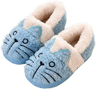 KVbabby Chausson Enfant Fille Peluche Pantoufle Fille Chausson Garçon Chaussons Hiver Antidérapants bébé Chaussures pour F...