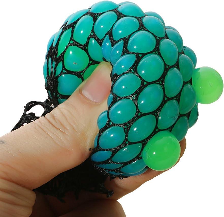Bingole Atlanta Mall 2PCS Randomly Mesh Squishy Squeeze Stress Max 55% OFF Balls Relief G