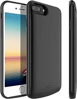 STOON Battery Case for iPhone 6s Plus/6 Plus/7 Plus/ 8 Plus 5500mAh Detachable Charger Case Extended Battery Protective Charging Case Cover for iPhone 8 Plus/7 Plus/6s Plus/6 Plus (Light Black)