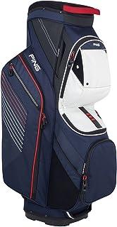 新しい2018?Pingトラバースネイビー/ホワイト/レッド14-way Topゴルフカートバッグ