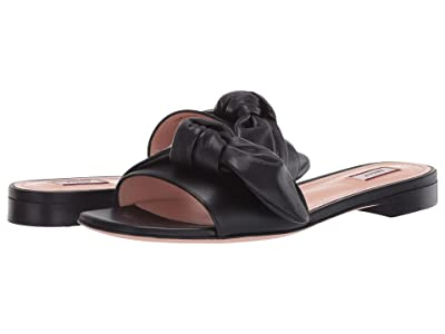 Bally Faney Flat Sandal (Black) Women