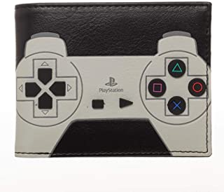 Playstation Controller With 3D Rubber Buttons Bifold Wallet