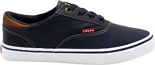 Levis Ethan Nappa Ul Sneaker For Men, 45 EU Navy tan