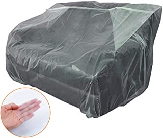 STARTWO Furniture Cover Plastic Bag Plastic Couch Cover Heavy Duty Water Resistant Thick Clear | Sofa Slipover for Moving and Long Term Storage