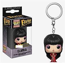 Funko Pocket Pop! Elvira Red Dress Keychain Keyring Exclusive