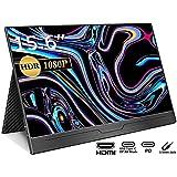 モバイルモニター/モバイルディスプレイ/cocopar 15.6インチ/スイッチ用モニター/IPSパネル/薄い/軽量/1920x1080FHD/USB Tpye-C一本/mini HDMI/保護ケー ス付 (15.6インチ)