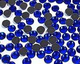 Perlin - Hotfix Strasssteine, 14400stk, Cobalt Blau, 3mm