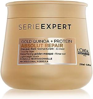 Loreal Serie Expert Absolut Repair Resurfacing Gold Quinoa Protein Mask Masque - 8.4 oz, na