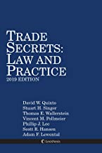 Trade Secrets: Law and Practice, 2019 Edition
