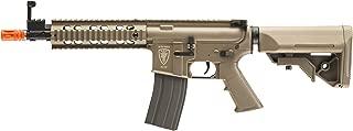 Elite Force M4 AEG Automatic 6mm BB Rifle Airsoft Gun, CQB, FDE