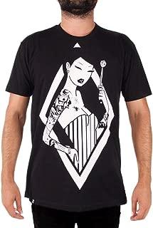Tokidoki Pin Stripes Mens Black T-Shirt