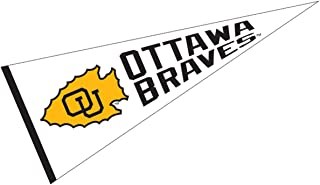 College Flags and Banners Co. Ottawa Braves Pennant 12