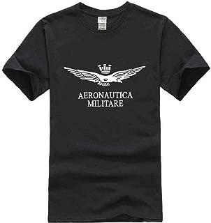 Aeronautica Militare Men's Men Printing Tees Short Sleeve T Shirt Blouse