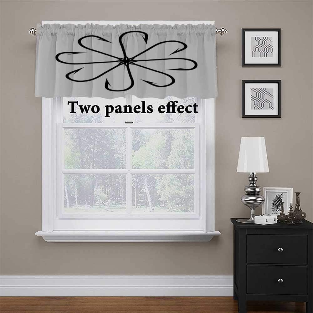 Window Curtain Valance Sales Flower shopping Shaped Ga Steel Multi Hook Artisan