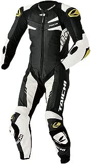 RS Taichi GP-WRX R306 Tech Air Compatible Leather Suit - NXL306 (54 Euro (XLW)) (Black/White)