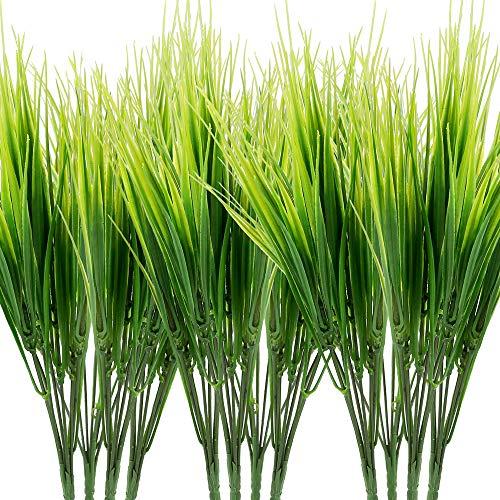 Omldggr 12 lots de plantes artificielles en plastique pour intérieur et extérieur