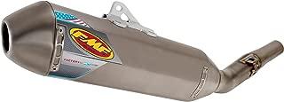 FMF Racing Factory 4.1 RCT Slip-On - Titanium Muffler - Titanium Midpipe - Titanium Endcap , Color: Natural, Material: Titanium 045474