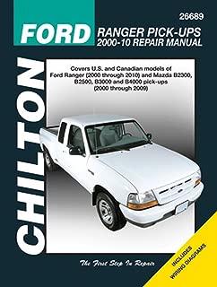 Chilton Ford Ranger Pick-ups Repair Manual 2000 - 2010: Covers U.s. and Canadian Models of Ford Ranger (2000 Through 2010) and Mazda B2300, B2500, ... (Chilton's Total Car Care Repair Manual)