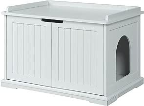 Best hidden cat litter box cabinet Reviews