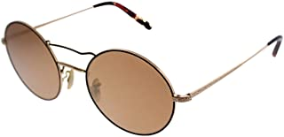 acb1af21c6b6e OLIVER PEOPLES NICKOL 1214S - 50377T SUNGLASSES ROSE GOLD BURGUNDY   PEACH  GOLD MIRROR 53MM