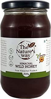 The Natures way Himachal Wild Honey; Pure Raw Unprocessed Honey (500 g)