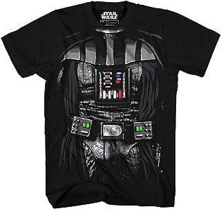 STAR WARS Boys' Big Darth Vader Costume T-Shirt