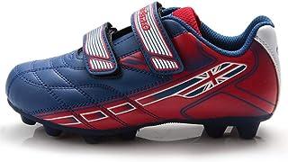 c24141aebe7884 LHY RIDING Scarpe da Ciclismo all'aperto Scarpe da Calcio Unisex per Bambini  con Velcro