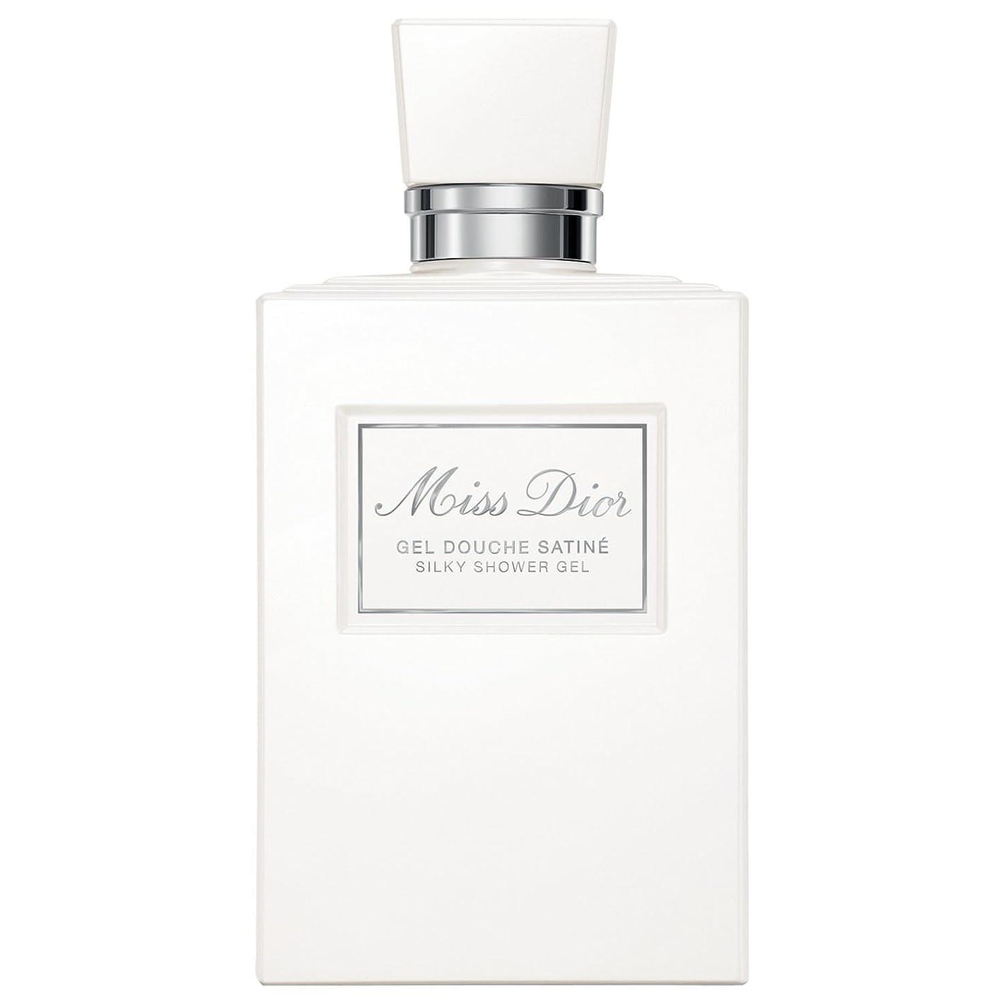 オンス貧しい容器[Dior ] ディオールミスディオールシャワージェル200Ml - Dior Miss Dior Shower Gel 200ml [並行輸入品]
