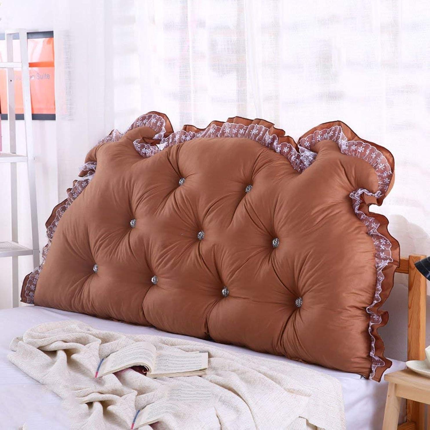最高現代の予見するJIANHEADS ベッドサイドの読書枕背部クッション、ソファーマットクッション100%綿背もたれ位置決めサポート枕 (Color : I, サイズ : 125x70x15cm(49x28x6inch))
