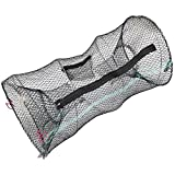 Hillington Collapsible Crab Basket– Great Trap Net for Catching Crabs, Lobster, Shrimp and Crayfish -...