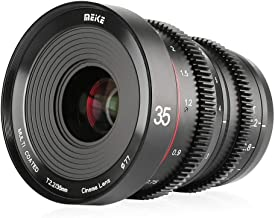 $399 » Meike MK-35mm T2.2 Large Aperture Manual Focus Prime Low Distortion Mini Cine Lens for Micro Four Thirds M43 MFT Olympus Panasonic Lumix BMPCC 4K Zcam E2