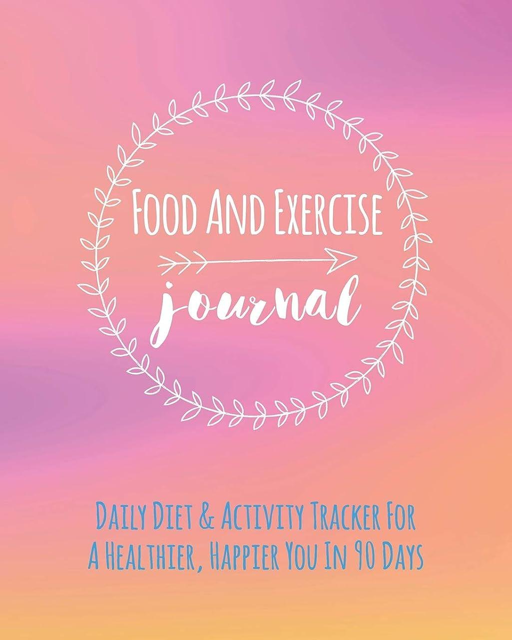 スカープ百年マルコポーロFood And Exercise Journal: Daily Diet & Activity Tracker For A Healthier, Happier You In 90 Days. Ultimate Health And Fitness Plan (Self-Care Diary)