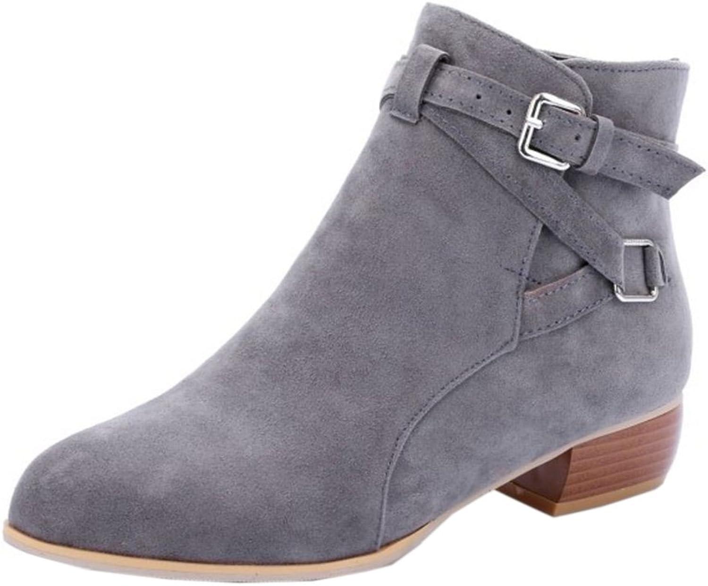 AicciAizzi Women Ankle Boots Slip-On