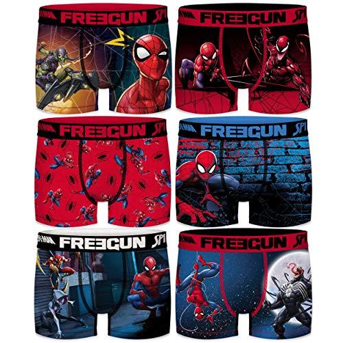 FREEGUN -Colección Spiderman- Boxers para niño y Adulto