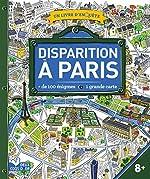 Disparition à Paris - livre avec carte - Un livre d'enquête - Les Fées Hilares