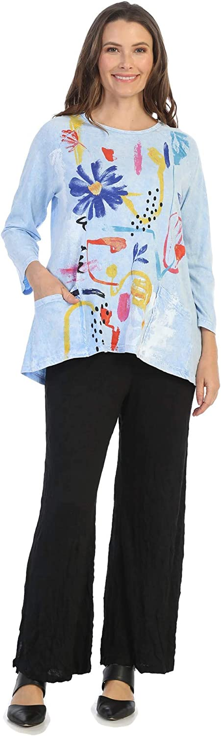 70% OFF Outlet Jess Jane Max 88% OFF Women's Lulu Mineral Washed Cotton Pocket Patch Tuni