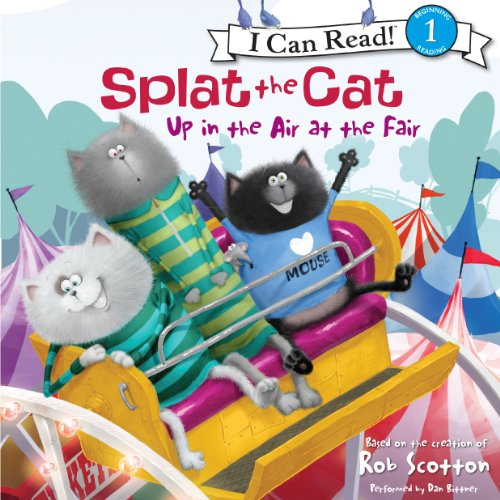 Splat the Cat audiobook cover art