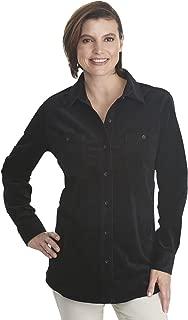 Women's Stretch Cotton Corduroy Shirt