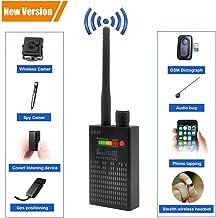 【Newest Version】 Dooreemee Anti Spy RF Signal Detector Bug Detector GPS Tracker Wireless Camera Amplification Ultra-high S...