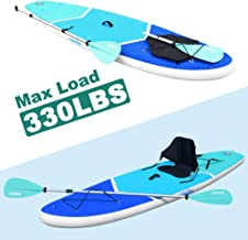 Zupapa Inflatable Stand Up Paddle Board All Around for All Skilled Paddlers Adults Child Paddling Kayaking iSUP Yoga