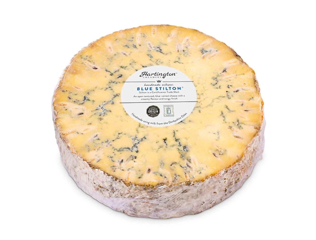 Hartington Blue Stilton Fees free!! Wholesale Ring 2kg Cheese