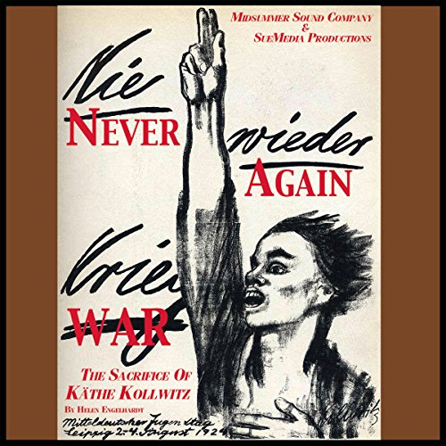 Never Again War audiobook cover art