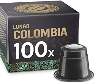 Single Origin Lungo Colombia, 100 Capsules, by REAL COFFEE, Denmark