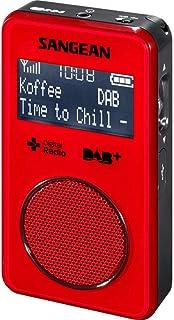 Sangean DPR-35 DAB+/FM Radio Red & AUST SANGEAN Warranty (Replaces DPR-34)