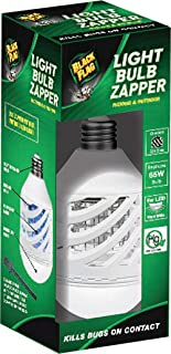 Black Flag BZB-10N 9W LED Light Bulb Bug Zapper, White