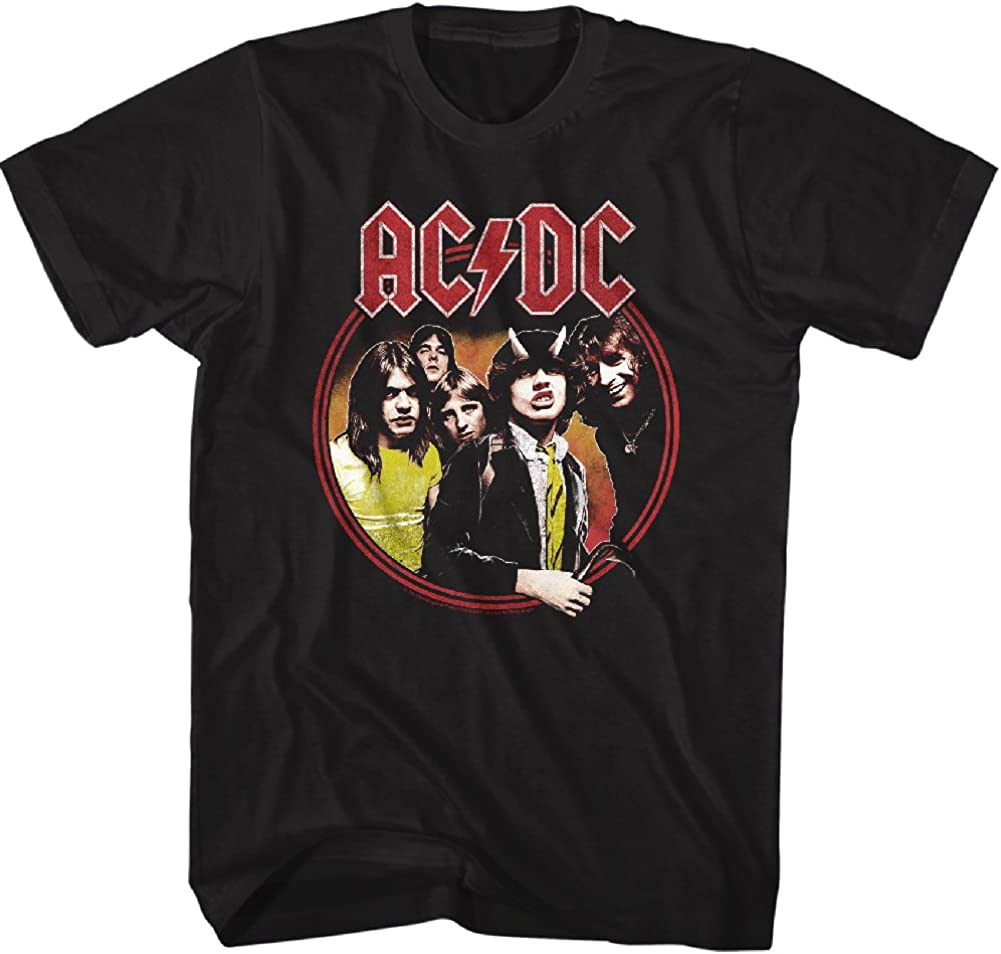 American Classics Men's 新作 人気 ACDC Highway Hell Short Adult to 爆売り Circle