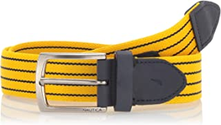 Nautica Men's Casual Plaque Belt