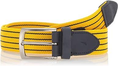 Nautica Men's Casual Plaque Belt